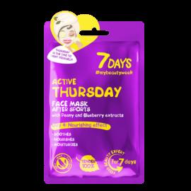 7 DAYS Active Thursday Sheet Mask 28g