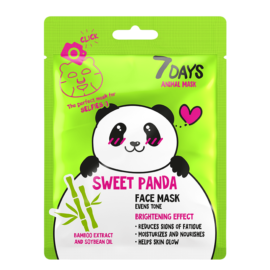 7 DAYS ANIMAL Sweet Panda Sheet Mask 28g