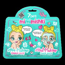 7 DAYS MIMIMISHKI PRE & POST MakeUp Green 25g/25g