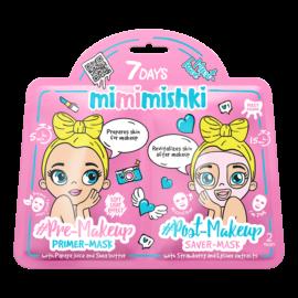 7 DAYS MIMIMISHKI PRE & POST MakeUp Pink 25g/25g