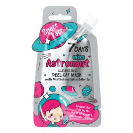 7 DAYS SPACE Miss Astronaut Peel-off Mask 20ml