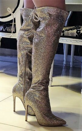 GLAM & GOLD BOOTS