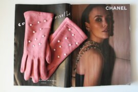 PEARL PINK GLOVES