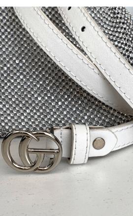 GG XSMALL WHITE BELT