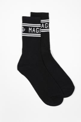 MagicBee Stripes Socks – Black